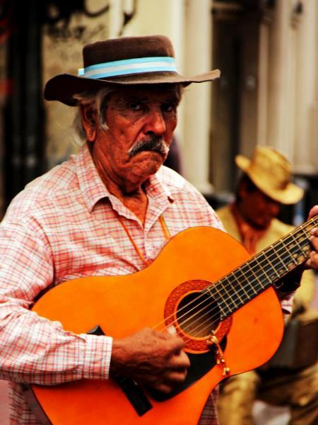 Gaucho in San Telmo