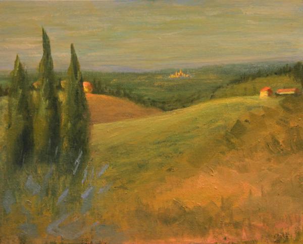 Distant San Gimignano
