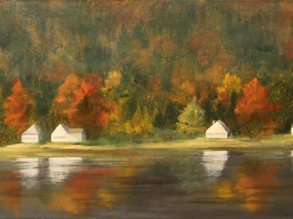 Cottages on Newfound Lake