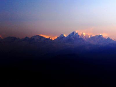 Himalaya Mountain Sunrise