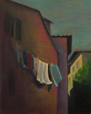 Laundryin Tuscany
