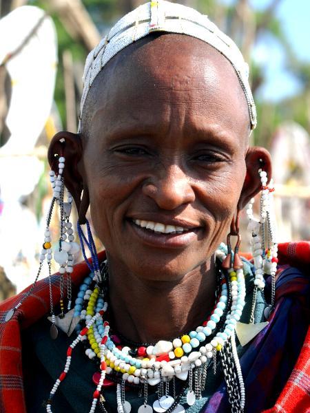 Masai Matriarch Jean Cronin Connolly